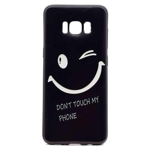 Etui Slim Art Samsung Galaxy S8 mrugnięcie oka i nie dotykaj mojego telefonu