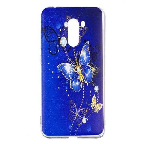 Etui Slim Case Art Huawei Y6 2018 niebieski motyl