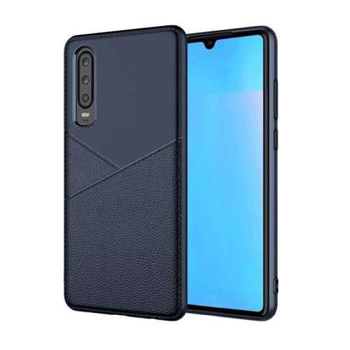 Etui Slim Case Art Line Samsung Galaxy A70 niebieskie