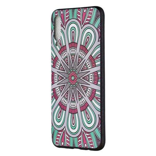 Etui Slim Case Art SAMSUNG GALAXY A70 kwiecisty wzór