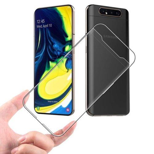 Etui Slim Case SAMSUNG GALAXY A80 elastyczne ultracienkie transparentne