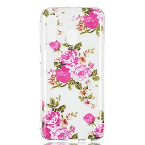 Etui Slim case Art SAMSUNG GALAXY A40 żywe kwiaty