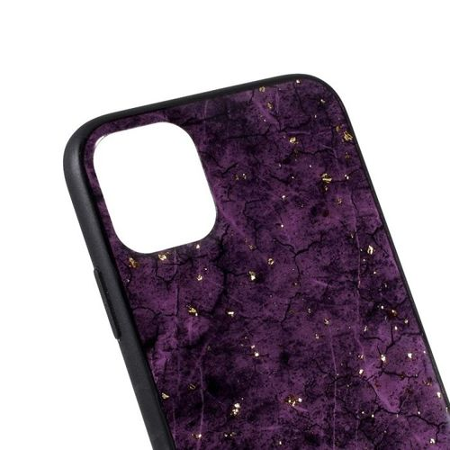 Etui Slim case Art Wzory IPHONE 11 fioletowe