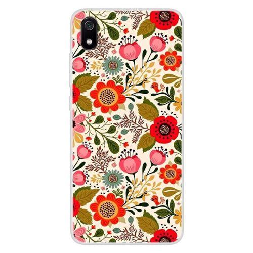 Etui Slim case Art Wzory XIAOMI REDMI 7A kwiaty vivid