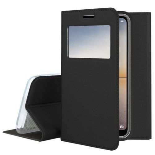 Etui Smart Look SAMSUNG A7 2018 czarny magnetyczny