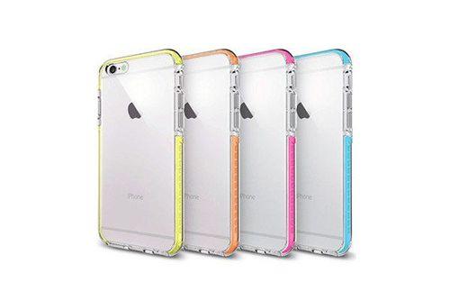 Etui X-FITTED colorful TPU IPHONE 7 pomarańczowe 74XCO