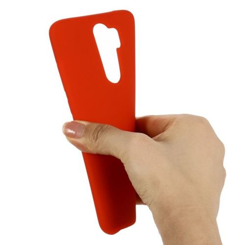 Etui XIAOMI MI NOTE 10 Silicone case elastyczne silikonowe czerwone
