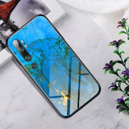 Etui XIAOMI MI NOTE 10 Szklane Glass case Gradient Color rankin
