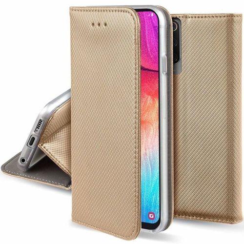 Etui XIAOMI REDMI 8 portfel z klapką Flip Magnet złote
