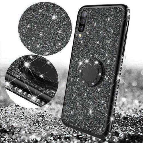 Etui XIAOMI REDMI 8A Diamond Ring Brokat czarne
