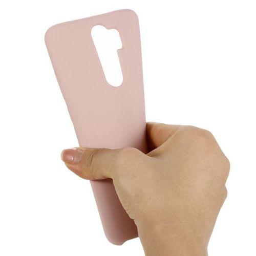 Etui XIAOMI REDMI NOTE 8 PRO Silicone case elastyczne silikonowe różowe
