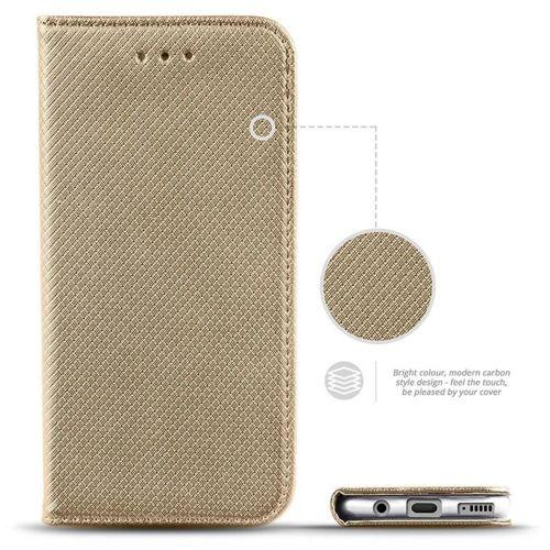 Etui XIAOMI REDMI NOTE 8T portfel z klapką Flip Magnet złote