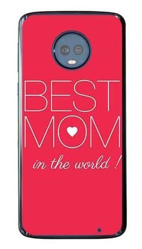 Etui dla mamy best mom na Motorola Moto G6 Plus