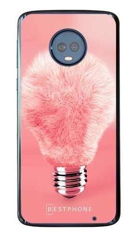 Etui futrzasta żarówka na Motorola Moto G6 Plus