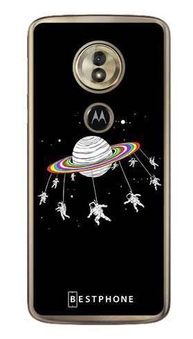 Etui karuzela na księżycu na Motorola Moto G6 Play