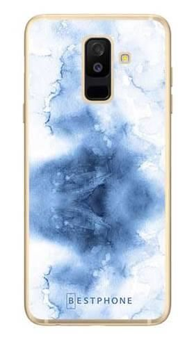 Etui niebieska akwarela na Samsung Galaxy A6 Plus