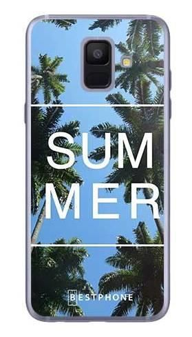 Etui palmy summer na Samsung Galaxy A6