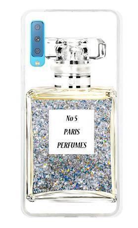 Etui perfumy butelka brokat na Samsung Galaxy A7 2018 V2