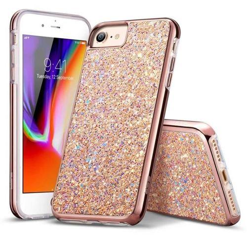 Etui pokrowiec ESR SPARKLY DIAMOND IPHONE 7/8 ROSE GOLD