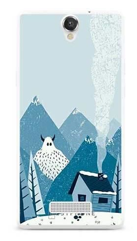 Etui yeti i góry na MyPhone Cube