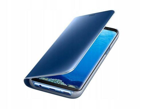 Etui z klapką Clear View Cover HUAWEI P SMART Z niebieskie