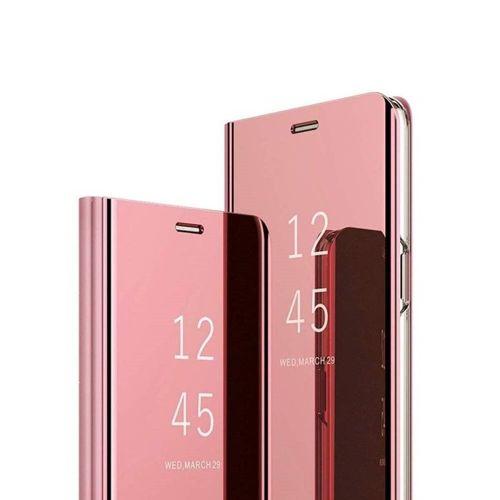 Etui z klapką Clear View Cover SAMSUNG GALAXY A20E różowe