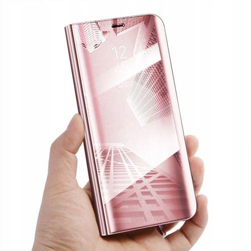 Etui z klapką Clear View Cover SAMSUNG GALAXY A40 różowe