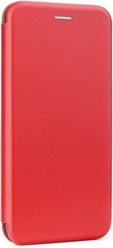 Etui z klapką Flip Elegance SAMSUNG GALAXY S10 czerwony Magnetyczny