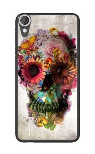 FANCY HTC Desire 820 czaszka kwiaty