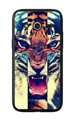 FANCY Samsung GALAXY CORE LTE tygrys krzyż