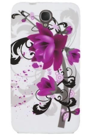 FLOWER Alcatel Idol 2 fioletowy kwiat