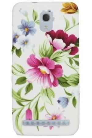 FLOWER Alcatel Idol Mini 2S pastelowe kwiatki
