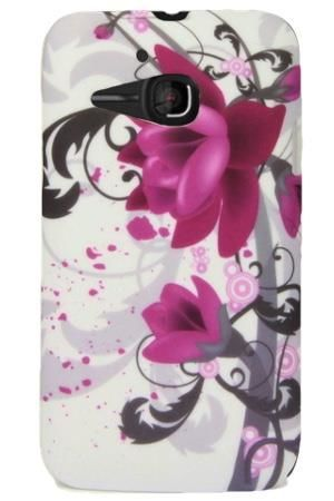 FLOWER Alcatel M'POP fioletowy kwiat