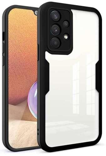 FULL BODY 360 pancerne etui pokrowiec Samsung Galaxy A32 4G LTE czarny