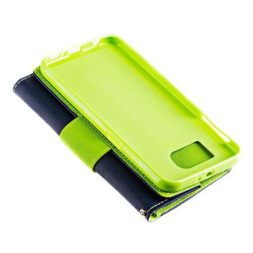 Fancy Case etui pokrowiec z funkcją podstawki Huawei P10 Lite fioletowy