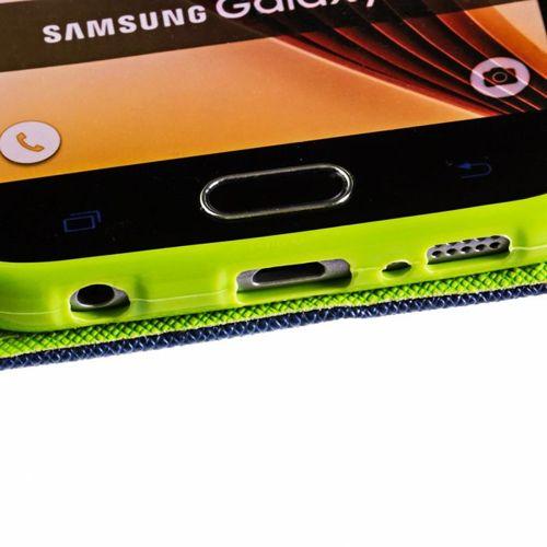 Fancy Case etui pokrowiec z funkcją podstawki Sony Xperia XZ2 granatowy