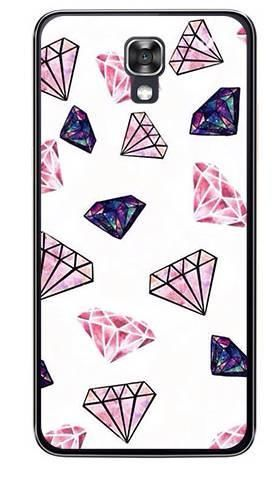 Foto Case LG X SCREEN różowe diamenty