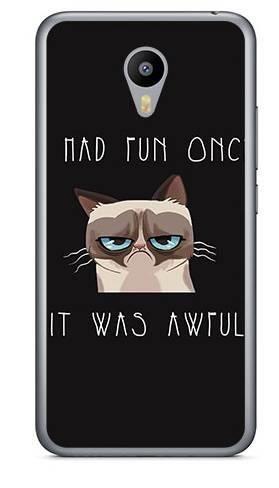 Foto Case Meizu M2 NOTE grumpy cat
