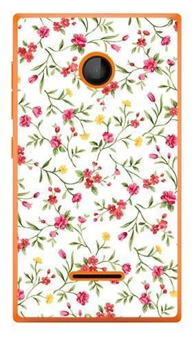 Foto Case Microsoft Lumia 435 kwiatuszki