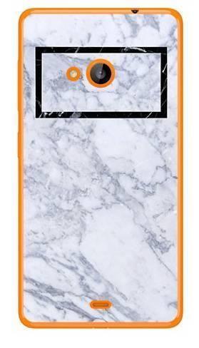 Foto Case Microsoft Lumia 540 marmur prostokąt