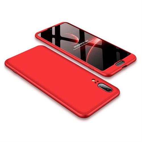 GKK 360 Protection Case etui na całą obudowę przód + tył Huawei P20 czerwony