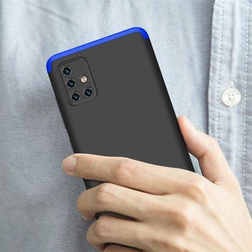 GKK 360 Protection Case etui na całą obudowę przód + tył Samsung Galaxy A51 czarno-niebieski