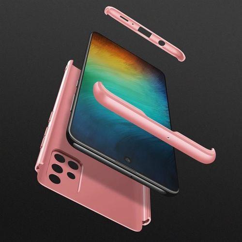 GKK 360 Protection Case etui na całą obudowę przód + tył Samsung Galaxy A71 różowy