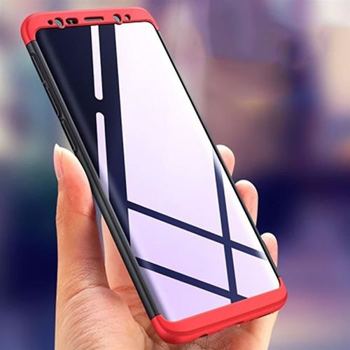 GKK 360 Protection Case etui na całą obudowę przód + tył Samsung Galaxy S9 Plus G965 czarno-niebieski
