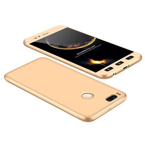GKK 360 Protection Case etui na całą obudowę przód + tył Xiaomi Mi A1 / Mi 5X złoty