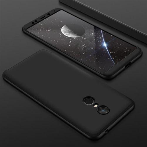 GKK 360 Protection Case etui na całą obudowę przód + tył Xiaomi Redmi 5 Plus / Redmi Note 5 (single camera) czarny