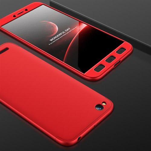GKK 360 Protection Case etui na całą obudowę przód + tył Xiaomi Redmi 5A czerwony