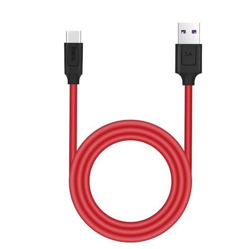 HOCO X11 TYPE-C CABLE 120CM BLACK/RED
