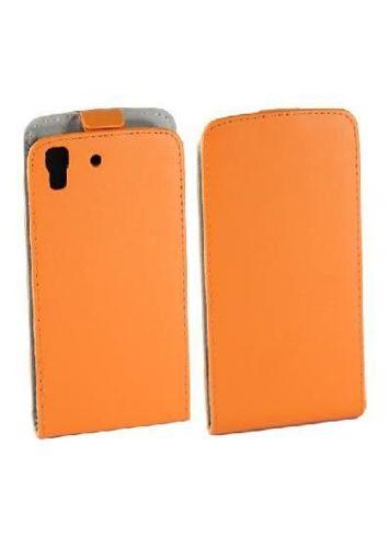 Kabura FLEXI Huawei Y6 pomarańczowy