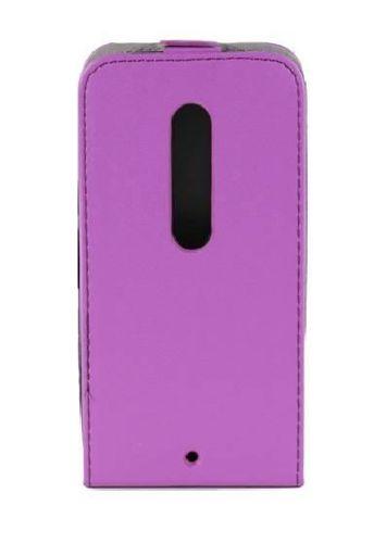 Kabura FLEXI Motorola MOTO X STYLE fioletowy